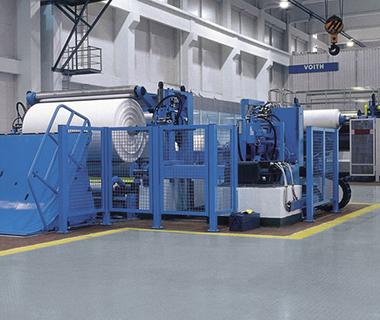Commoda PVC area, in fabrica fabrica
