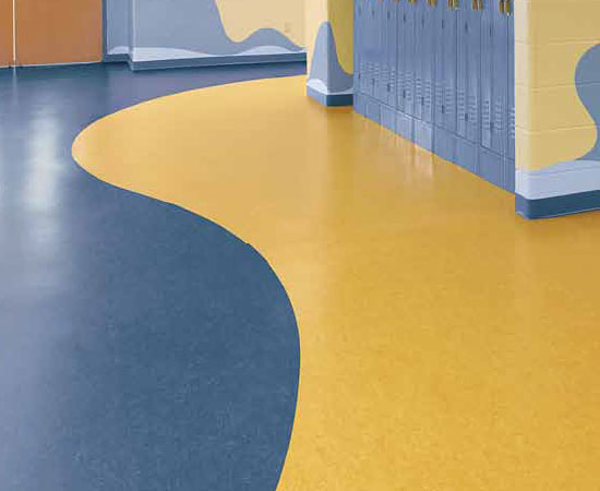 Heterogeneous vinyl flooring<br />Excellent resistance to indentation and tearing <br />Easy, low-cost maintenance